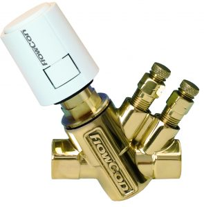 """FlowCon """"EVS"""" Fixed Flow Automatic Balancing and Temperature Control Valve"""