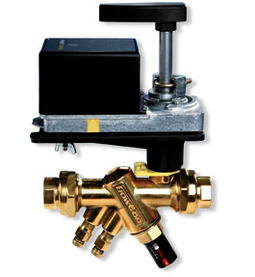 FlowCon ABM Externally Adjustable Automatic Balancing and Temperature Control Valve