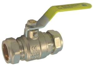 FloControl Lever Operated Compression Ball Valve