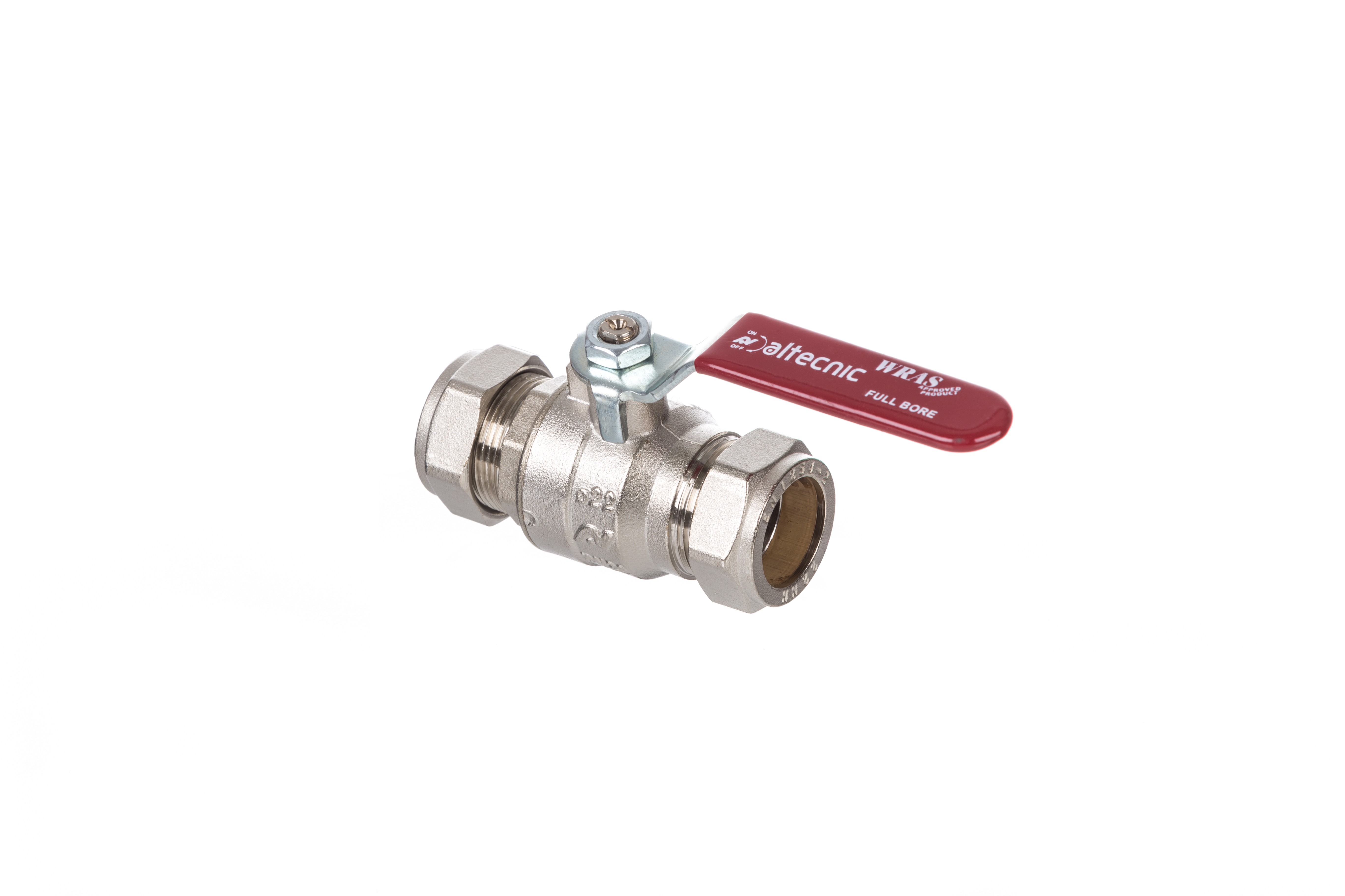 Series 171 Lever Operated WRAS approved Ball Valve with Compression Connections