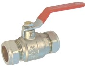 GB/BVL Lever Operated Brass Ball Valve