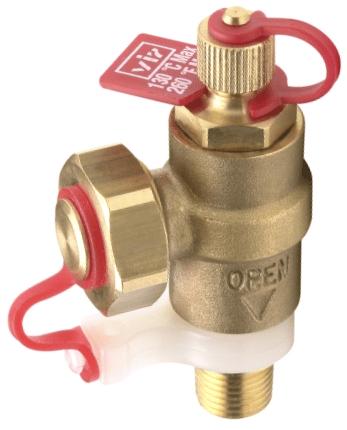 VIR Series 9315 Combined Pressure/Temperature Plug & Hose Union Drain Valve