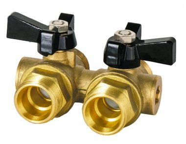 FlowCon Mini Bypass Fan Coil Flushing Unit – Fits directly on FCU's with connections at 40 mm centres