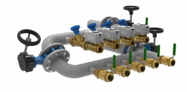 Flanged Distribution Manifold