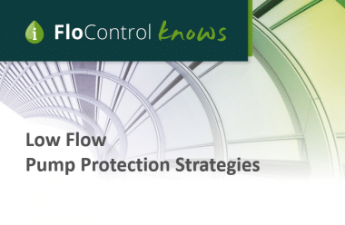 Low Flow Pump Protection Header