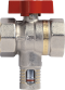 Effebi Female Threaded Bi-Directional Compact Equa Ball Balancing Valve image
