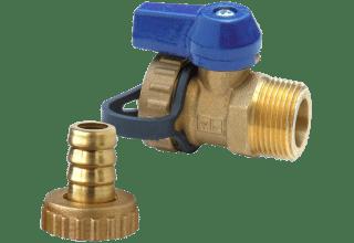 VIR 322 Brass Drain Valve